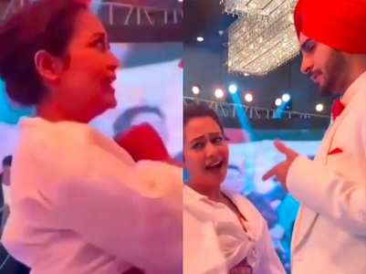 Video: Neha-Rohan dance at their sangeet