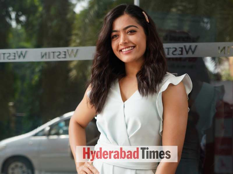 Spotted: Rashmika Mandanna looks dreamy in a white jumpsuit for an event