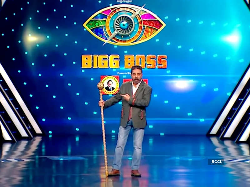 """Bigg Boss Tamil 4: Kamal Haasan to take a dig at Sanam Shetty and Suresh Chakravarthy; says, """"Time has come to take things under our control"""""""