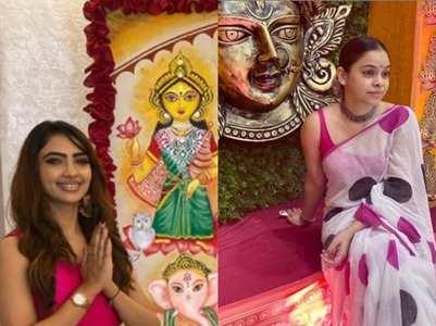 TV celebs celebrate Durga Ashtami; see pics