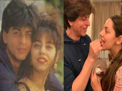 29 Years Of SRK-Gauri: Fans pour in love
