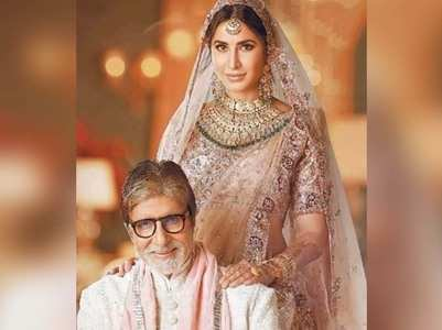 Amitabh shares an old pic with Katrina Kaif
