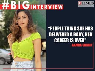 #BigInterview with Aamna Sharif; read on