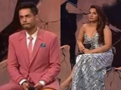 BB14: Shardul and Naina fight on their entry