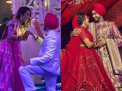 Inside pics, videos from #Nehupreet's wedding