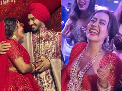 Fun-filled moments from Neha's wedding