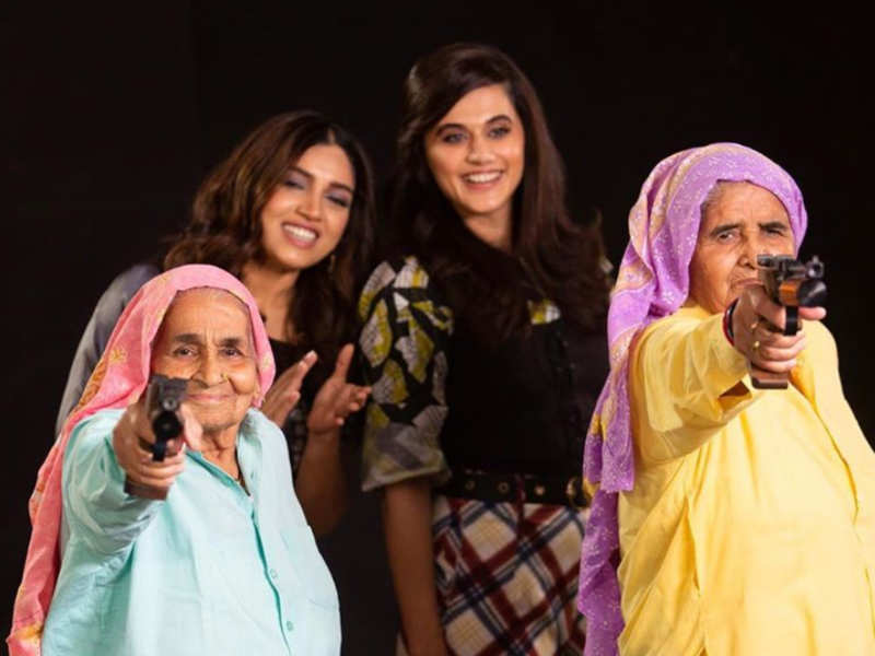 Taapsee Pannu and Bhumi Pednekar pen down heartfelt messages as 'Saand Ki Aankh' completes 1 year
