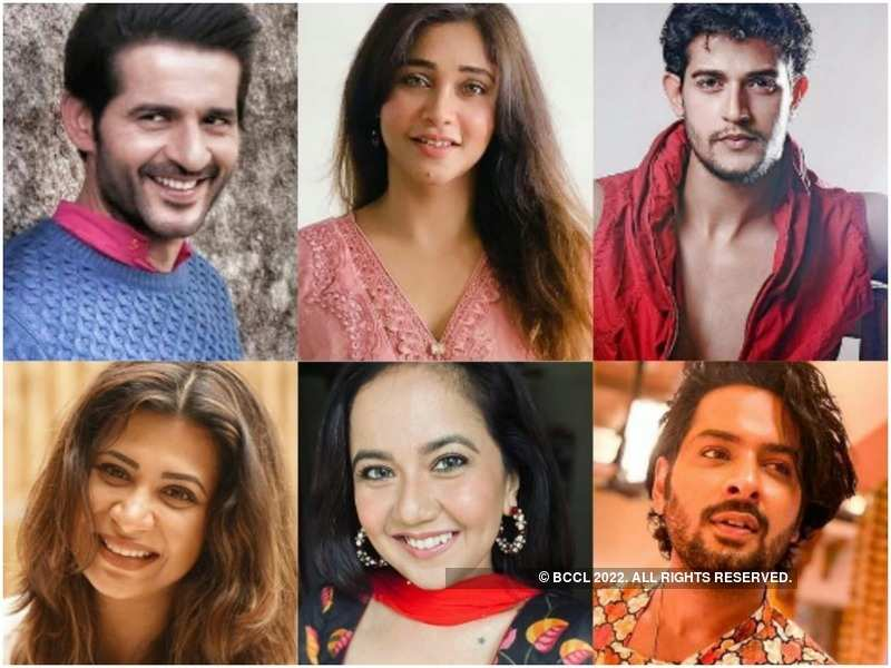 Hiten Tejwani, Amrapali Gupta, Kuldeep Singh, Parineeta Borthakur, Roopal Tyagi and Satya Tiwari