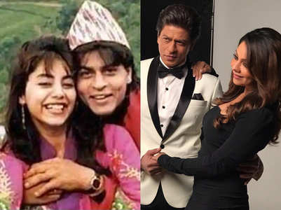 Throwback: When SRK fooled Gauri