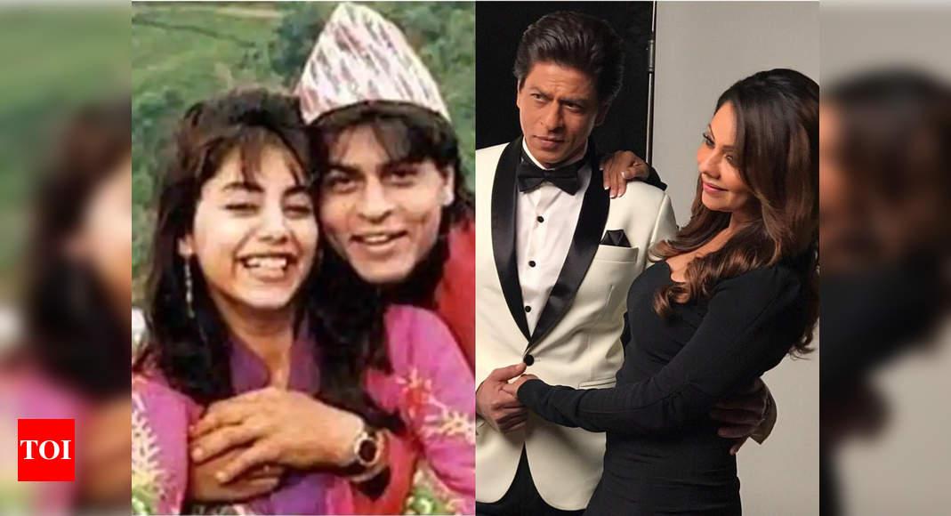 Throwback: When SRK fooled Gauri