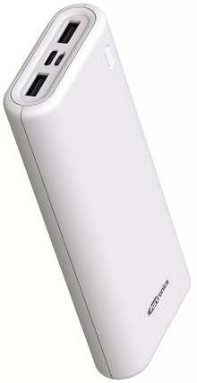 Portronics Indo 20X POR-1018 20000mAh Power Bank (White)
