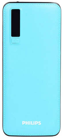 Philips DLP6006U 11000mAh Lithium-ion Power Bank, Fast Charging, 10 W (Blue)