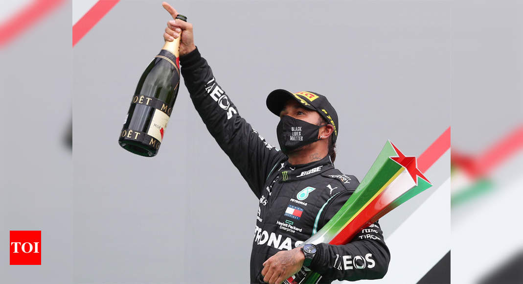 Hamilton claims record-breaking 92nd F1 win in Portugal