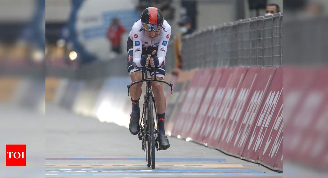 Britain's Geoghegan Hart wins Giro d'Italia