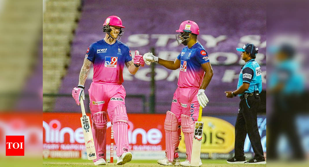 Stokes, Samson star as RR beat MI by 8 wickets; CSK knocked out