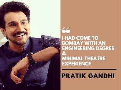 Pratik Gandhi talks about his acting journey
