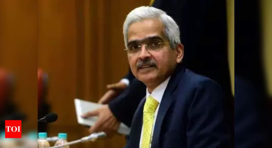 RBI governor Shaktikanta Das tests positive for Covid – Times of India