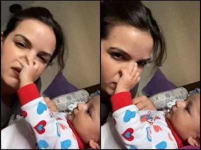 Natasa shares a cute video of son Agastya