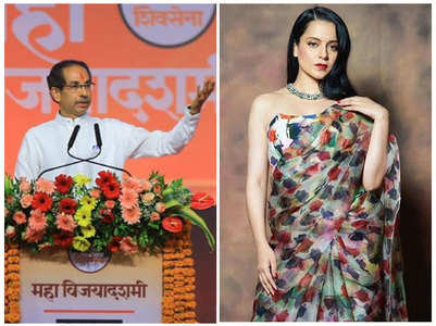 Kangana claps back at CM Uddhav Thackeray