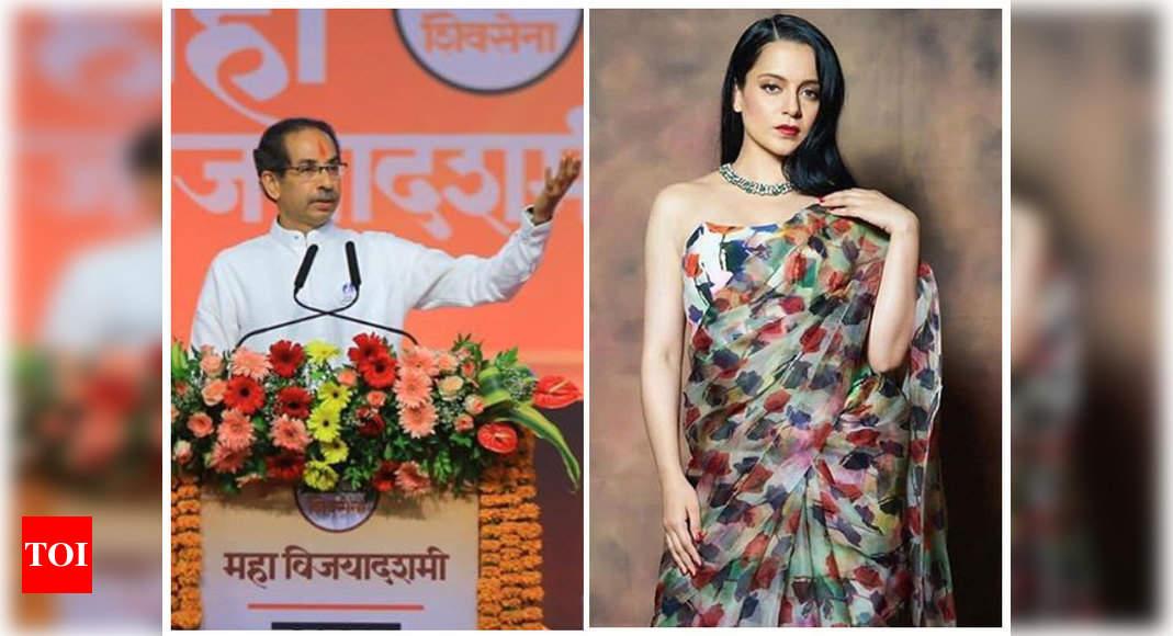 Kangana Ranaut claps back at Maharashtra CM Uddhav Thackeray; says she is 'overwhelmed at this open bullying' – Times of India