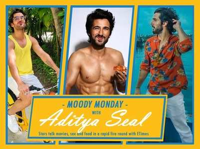#MoodyMonday rapid fire with Aditya Seal