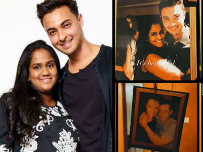 Arpita's sweet birthday surprise for Aayush