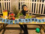Raveena Tandon rings in her birthday with husband Anil Thadani in Dalhousie