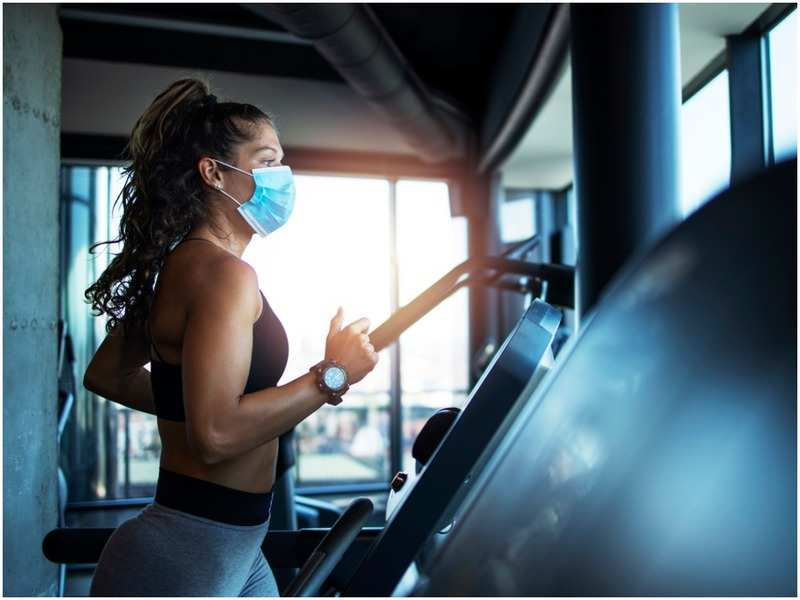 Heading back to the gym after it's reopened? Make sure you have your fitness vibe in place