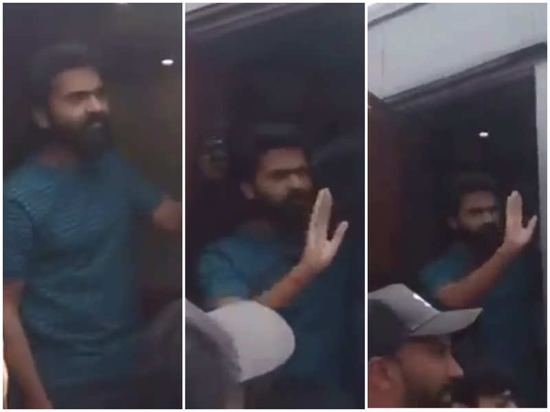 Silambarasan TR's shooting spot video goes viral