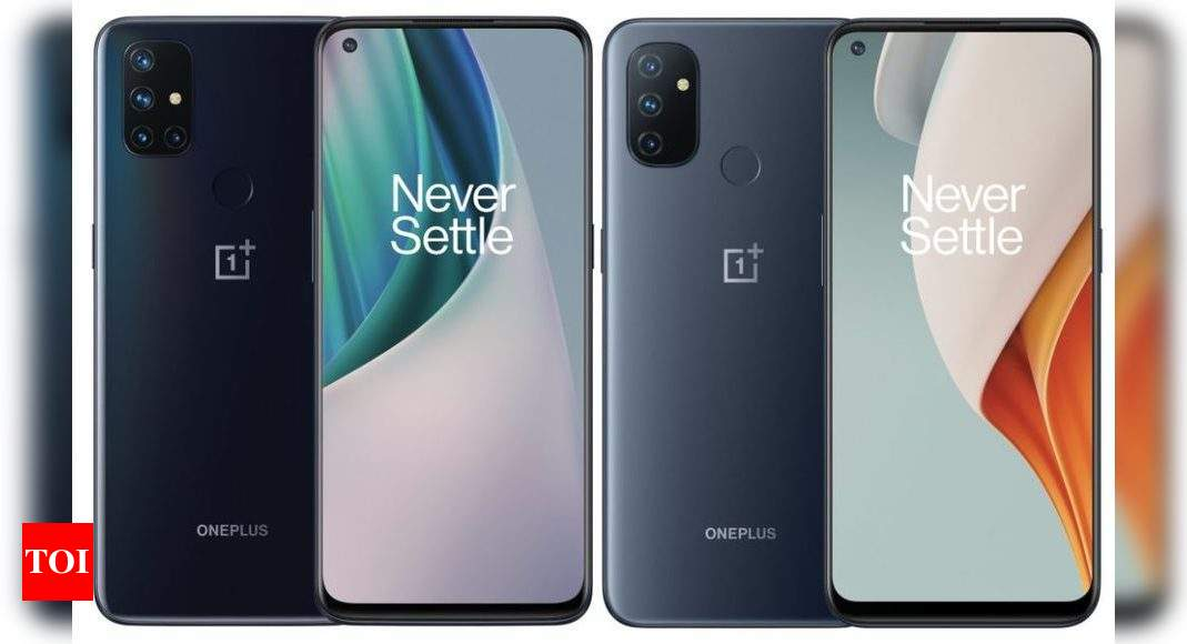 OnePlus Nord N10 and Nord N100 smartphones launched – Times of India