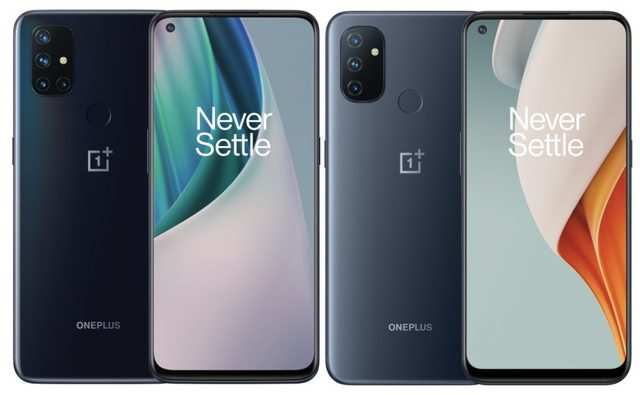 OnePlus Nord N10 and Nord N100 smartphones launched