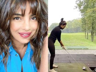 Watch: Priyanka Chopra plays golf in style
