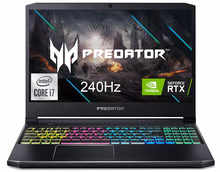 "Acer Predator Helios 300 Gaming Laptop, Intel i7-10750H, NVIDIA GeForce RTX 2060 6GB, 15.6"" FHD 240Hz 3ms IPS Display, 16GB Dual-Channel DDR4, 512GB NVMe SSD, WiFi 6, RGB Keyboard, PH315-53-736J"