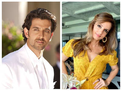 Hrithik is blown away by Sussanne's b'day look
