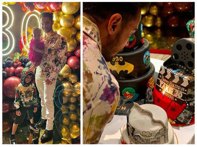 Photos from Aayush Sharma's birthday bash
