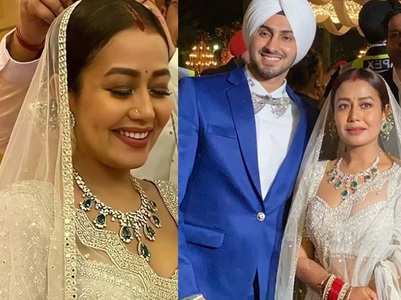 Inside Pics: Neha, Rohanpreet's reception