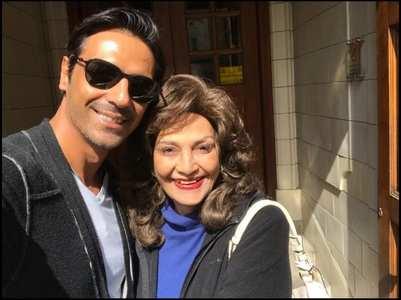 Arjun Rampal remembers his late mother