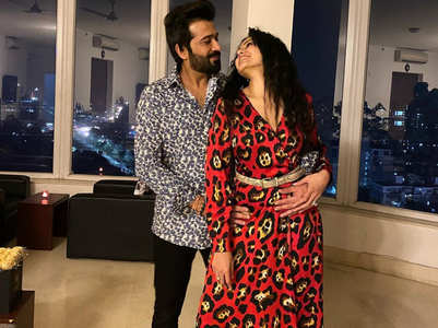 Kamya's romantic birthday wish for Shalabh