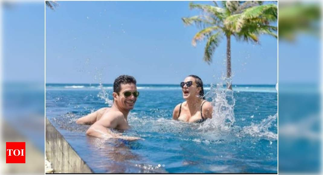 Angad Bedi and Neha Dhupia vacay pictures are giving us major relationship goals; view post - Times of India