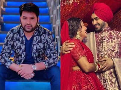 Kapil congratulates Neha, Rohanpreet
