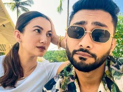 Gauahar Khan and Zaid Darbar holiday in Goa