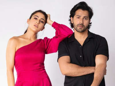 Sara & Varun look stunning in a photoshoot