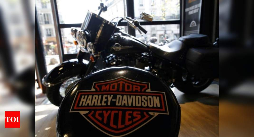 Hero MotoCorp to sell, service Harley-Davidson bikes in India – Times of India