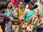 Durga Puja celebrations end with idol immersion