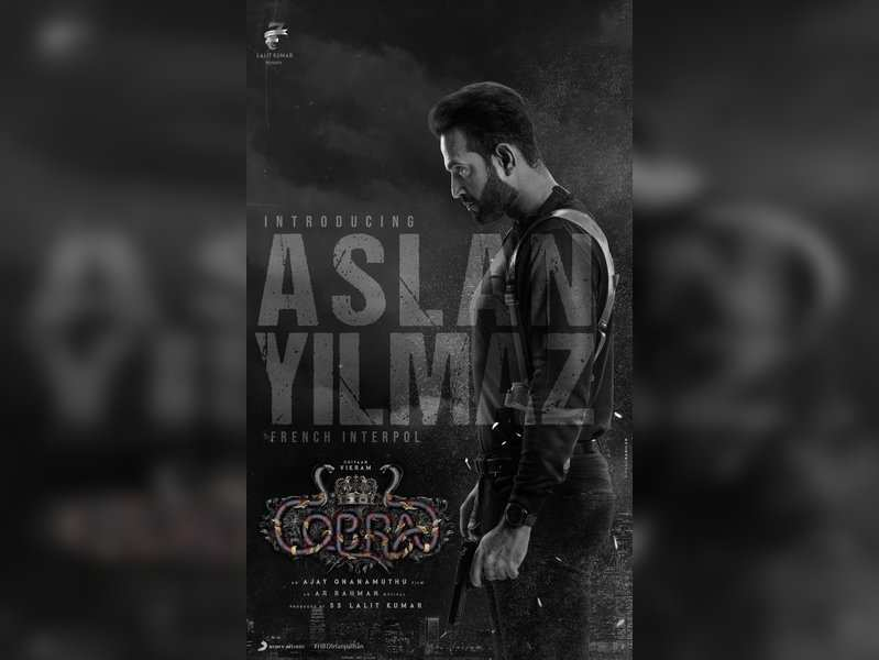 Ajay Gnanamuthu introduces Irfan Pathan's role in Vikram's 'Cobra'