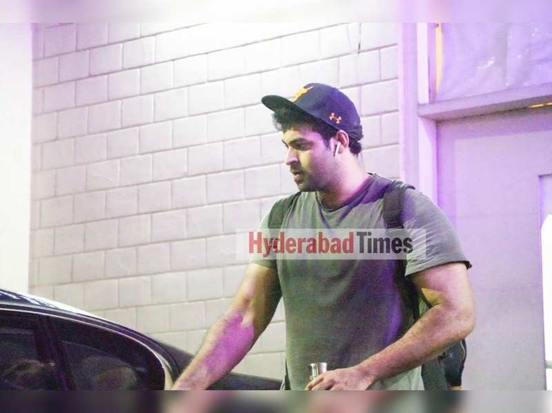 Spotted: Varun Tej looks like a total hunk in casuals after a workout