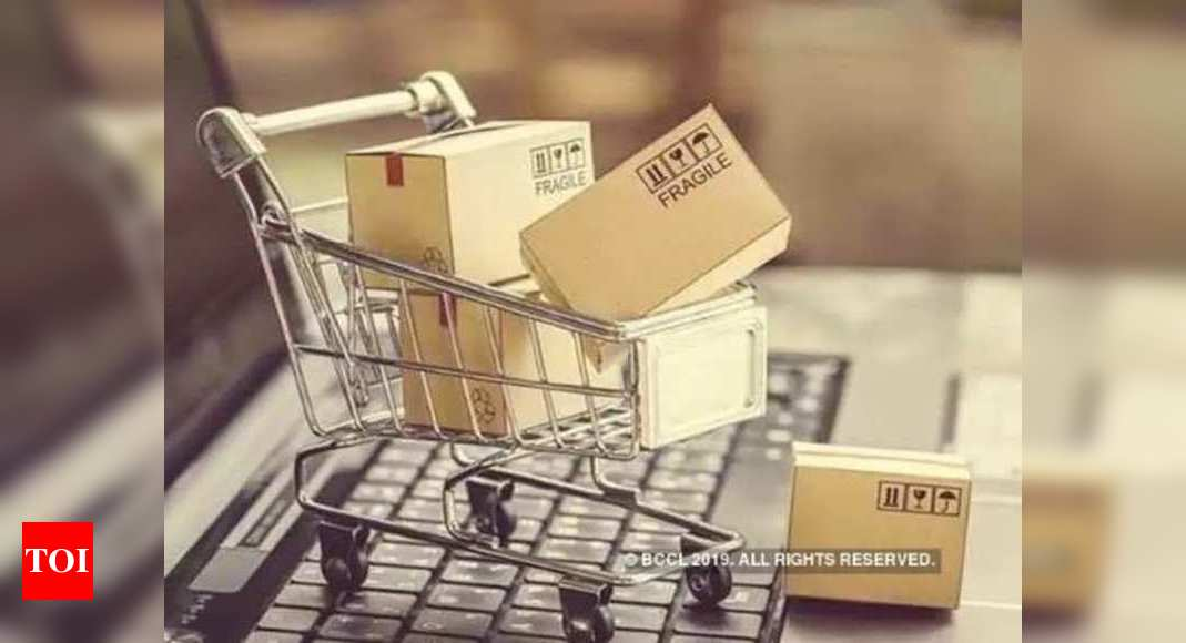 First week of online festive sales witnessed a 55% growth over last year: Report – Times of India