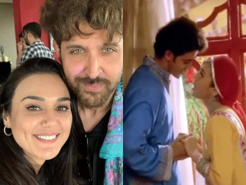 Preity Zinta celebrates 20 years of 'Mission Kashmir', says it was the start of an 'incredible friendship' with Hrithik Roshan