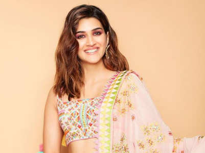 Kriti Sanon just wore a phulkari lehenga with a modern twist