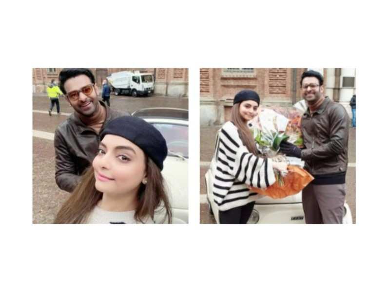 Prabhas and Vaibhavi Merchant's selfies from the sets of Radhe Shyam in Italy go viral